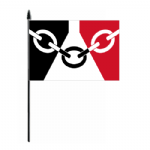 Black Country Hand Flag - Medium.